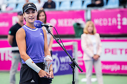 PORTOROZ, SLOVENIA - SEPTEMBER 18: Anna<br /> Kalinskaya Russia after the double finals of WTA 250 Zavarovalnica Sava Portoroz at SRC Marina, on September 19, 2021 in Portoroz / Portorose, Slovenia. Photo by Nik Moder / Sportida