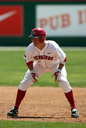 18 April 2010: Chad Hinshaw.  Southern Illinois Salukis and the Illinois State Redbirds face off on Duffy Bass Field on the campus of Illinois State University in Normal Illinois.
