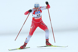 Vesna Fabjan of Slovenia at Ladies` Sprint Free Qualification Cross-country race at  FIS Nordic World Ski Championships Liberec 2008, on February 24, 2009, Vestec, Liberec, Czech Republic. (Photo by Vid Ponikvar / Sportida)