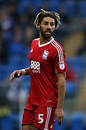 Ryan Shotton of Birmingham city looks on.EFL Skybet championship match, Cardiff city v Birmingham City at the Cardiff City Stadium in Cardiff, South Wales on Saturday 11th March 2017.<br /> pic by Andrew Orchard, Andrew Orchard sports photography.