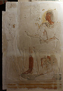 Cult chamber of Amenhotep and his wife Renenutet. 19th dynasty about 1280 BC