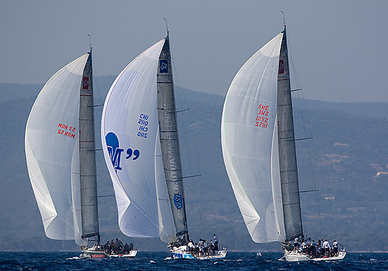 07_004589 © Sander van der Borch. Hyères - FRANCE,  11 September 2007 . BREITLING MEDCUP  in Hyères  (10/15 September 2007). Races 1 & 2