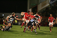 EDF Energy cup, Scarlets v Bristol Rugby at Stradey Park, Llanelli on 24th Oct 2008. action from the last ever match at the famous ground.