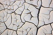 Dried cracked mud in a wash, Anza-Borrego Desert State Park, California.
