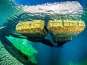 Dutch Springs, PA, Scuba Diving Resort, Platforms