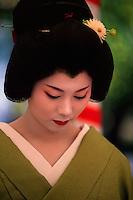 Geisha (geiko), Nishijin Yumematsuri (festival)