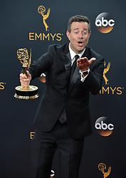 Carson Daly  im Press Room bei der Verleihung der 68. Primetime Emmy Awards in Los Angeles / 180916<br /> <br /> *** 68th Primetime Emmy Awards in Los Angeles, California on September 18th, 2016***