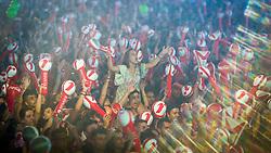 Público durante o show de Armandinho no Palco Planeta durante a 22ª edição do Planeta Atlântida. O maior festival de música do Sul do Brasil ocorre nos dias 3 e 4 de fevereiro, na SABA, na praia de Atlântida, no Litoral Norte gaúcho.  Foto: Jefferson Bernardes / Agência Preview