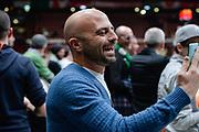 DESCRIZIONE : Beko Final Eight Coppa Italia 2016 Serie A Final8 Finale Olimpia EA7 Emporio Armani Milano - Sidigas Scandone Avellino<br /> GIOCATORE : Luca Abete<br /> CATEGORIA : Tifosi Pubblico Spettatori VIP Before Pregame<br /> SQUADRA : Sidigas Scandone Avellino<br /> EVENTO : Beko Final Eight Coppa Italia 2016<br /> GARA : Finale Olimpia EA7 Emporio Armani Milano - Sidigas Scandone Avellino<br /> DATA : 21/02/2016<br /> SPORT : Pallacanestro <br /> AUTORE : Agenzia Ciamillo-Castoria/L.Canu