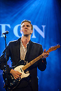 """WASHINGTON, DC - July 13th, 2014 - Hamilton Leithauser performs at The Hamilton in Washington, D.C. Leithauser, a D.C. native, released his first solo album this year while his former band, The Walkmen, are on a self-proclaimed """"extreme hiatus."""" (Photo by Kyle Gustafson / For The Washington Post)"""