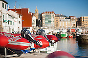 San Sebastian harbor (Spain)