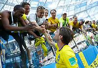 Albin Ekdal and sweden supporters celebration<br /> Nizhny Novgorod 16-06-2018 Football FIFA World Cup Russia  2018 <br /> Sweden - South Korea / Svezia - Corea del Sud <br /> Foto Matteo Ciambelli/Insidefoto