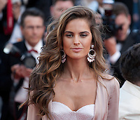 Model Izabel Goulart at the gala screening for the film Julieta at the 69th Cannes Film Festival, Tuesday 17th May 2016, Cannes, France. Photography: Doreen Kennedy