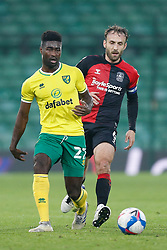 Alexander Tettey of Norwich City- Mandatory by-line: Phil Chaplin/JMP - 28/11/2020 - FOOTBALL - Carrow Road - Norwich, England - Norwich City v Coventry City - Sky Bet Championship