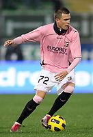 """JOSIP ILICIC<br /> Cesena 21/11/2010 Stadio """"Dino Manuzzi""""<br /> Campionato Italiano Serie A 2010/2011<br /> Cesena vs Palermo<br /> Foto Luca Pagliaricci Insidefoto"""