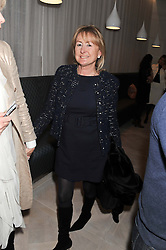 LORRAINE SPENCER at a party to celebrate the publication of Fame Game by Louise Fennell held at Grace, West Halkin Street, London on 12th March 2013.