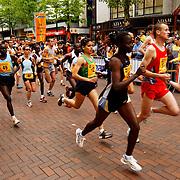 Nike City Run 2004, start