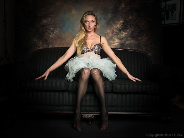 Tiana Hunter, model and photographer.