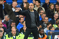 September 30, 2017 - London, England, United Kingdom - Manchester City manager Pep Guardiola during the Premier League match between Chelsea and Manchester City  at Stamford Bridge, London, England on 30 Sept 2016. (Credit Image: © Kieran Galvin/NurPhoto via ZUMA Press)