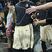 Central Florida guard Marcus Jordan (5) walks on to the court before a Conference USA NCAA basketball game between the Rice Owls and the Central Florida Knights at the UCF Arena on January 22, 2011 in Orlando, Florida. Rice won the game 57-50 and extended the Knights losing streak to 4 games.  (AP Photo/Alex Menendez)