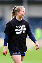 Lydia Thompson of Worcester Warriors Women - Mandatory by-line: Nick Browning/JMP - 24/10/2020 - RUGBY - Sixways Stadium - Worcester, England - Worcester Warriors Women v Wasps FC Ladies - Allianz Premier 15s
