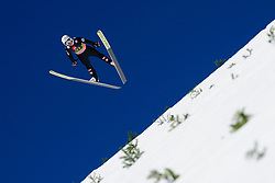 March 23, 2019 - Planica, Slovenia - Daniel Huber of Austria in action during the team competition at Planica FIS Ski Jumping World Cup finals  on March 23, 2019 in Planica, Slovenia. (Credit Image: © Rok Rakun/Pacific Press via ZUMA Wire)