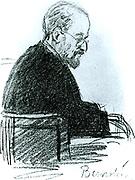 Eduard Bernstein (1850-1932) German socialist leader.  Lived in England 1888-1891.  Associate of Engels.