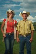 Columbiana, AL  August 22, 2016. Rich and Cliftin Garrett at their Wellness Center and farm in Columbiana, AL. Photo by Michael A. Schwarz
