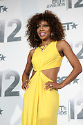 June 30, 2012-Los Angeles, CA : Actress Wendy Requel Robinson attends the 2012 BET Awards- Media Room held at the Shrine Auditorium on July 1, 2012 in Los Angeles. The BET Awards were established in 2001 by the Black Entertainment Television network to celebrate African Americans and other minorities in music, acting, sports, and other fields of entertainment over the past year. The awards are presented annually, and they are broadcast live on BET. (Photo by Terrence Jennings)