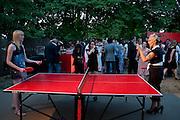 JADE PARFITT; CYNTHIA FORTUNE RYAN, The Summer Party. Serpentine Gallery. 8 July 2010. -DO NOT ARCHIVE-© Copyright Photograph by Dafydd Jones. 248 Clapham Rd. London SW9 0PZ. Tel 0207 820 0771. www.dafjones.com.