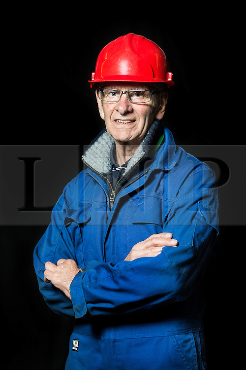 """© Licensed to London News Pictures. 04/05/2016. Birkenhead UK. Picture shows volunteer & former Store Man John Churchill who worked on the restoration of the Daniel Adamson at Canada Dock in Liverpool. The Daniel Adamson steam boat has been bought back to operational service after a £5M restoration. The coal fired steam tug is the last surviving steam powered tug built on the Mersey and is believed to be the oldest operational Mersey built ship in the world. The """"Danny"""" (originally named the Ralph Brocklebank) was built at Camel Laird ship yard in Birkenhead & launched in 1903. She worked the canal's & carried passengers across the Mersey & during WW1 had a stint working for the Royal Navy in Liverpool. The """"Danny"""" was refitted in the 30's in an art deco style. Withdrawn from service in 1984 by 2014 she was due for scrapping until Mersey tug skipper Dan Cross bought her for £1 and the campaign to save her was underway. Photo credit: Andrew McCaren/LNP ** More information available here http://tinyurl.com/jsucxaq **"""
