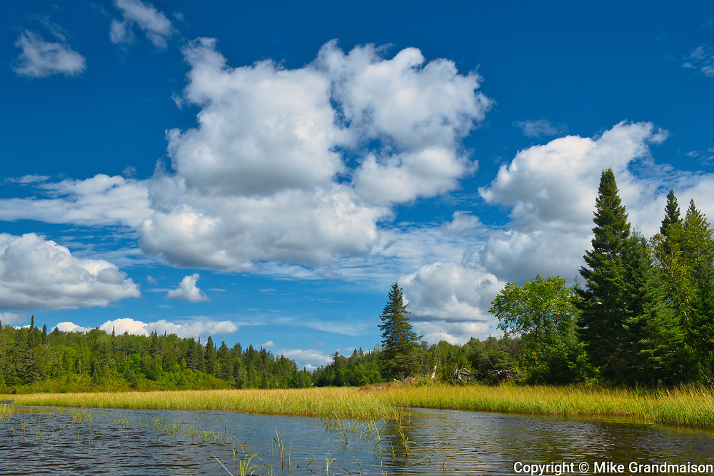 Whiteshell River west of Pine Point Rapids<br />Whiteshell Provincial Park<br />Manitoba<br />Canada