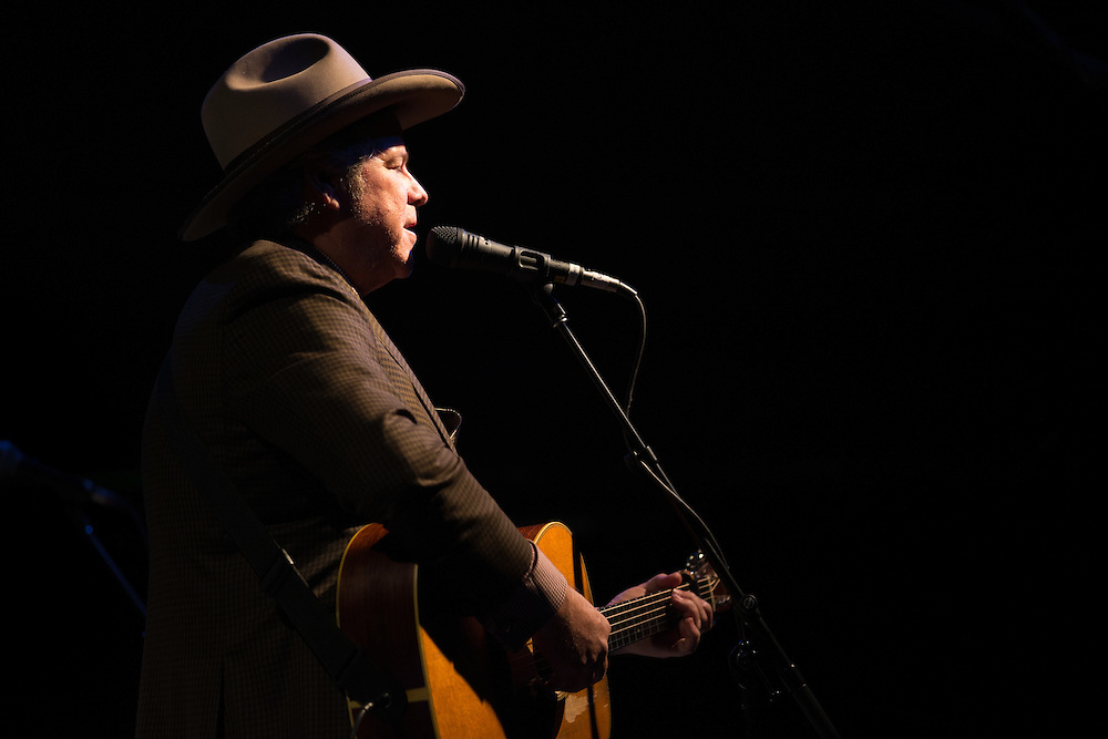 Robert Earl Keen in concert at Billy Bob's Texas in Fort Worth, Texas. February 5 2016. Photograph ©2016 Darren Carroll