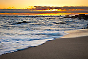 Sunset Over Victoria Beach In Laguna Beach