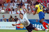 Photo: WROFOTO/Sportsbeat Images.<br />England v Ecuador. 2nd Round, FIFA World Cup 2006. 25/06/2006. <br />England's John Terry.