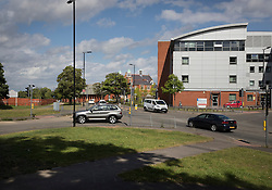 © Licensed to London News Pictures. 03/08/2016. Aldershot, UK.  Hospital Hill area of Aldershot where earlier there were reports that two men were seen 'acting suspiciously' in a Renault Clio at the Junction of Hospital Road and Queen's Avenue. Military have been on high alert following abduction attempt at RAF Marham two weeks ago and have been told not to wear uniform when off base.  Photo credit: Peter Macdiarmid/LNP