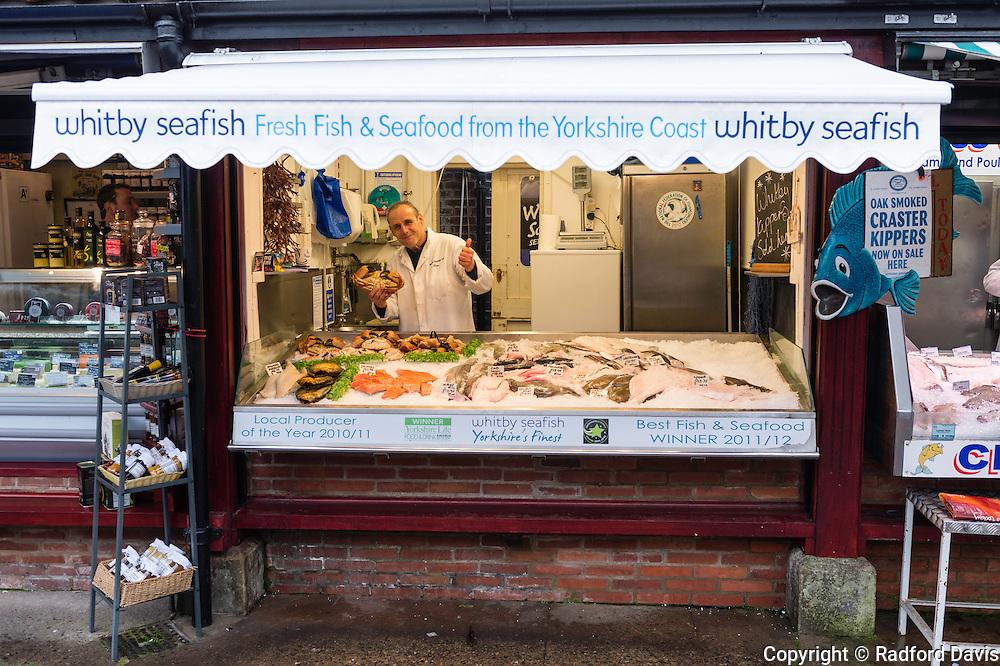 York fishmonger, England, UK