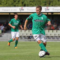 Jesper Larsen (Avarta) under kampen i 2. Division Øst mellem Boldklubben Avarta og FC Helsingør den 19. august 2012 i Espelunden. (Foto: Claus Birch).