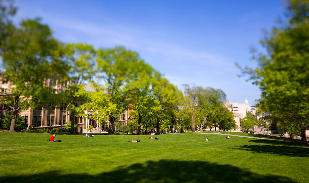 University of Wisconsin-Madison campus May 13, 2015. (Photo © Andy Manis)