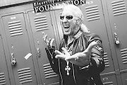 Photos of Dee Snider of Twisted Sister at the Electrify Your Music Foundation New York City launch event at Brooklyn Technical High School Theater in Brooklyn, NY. April 26, 2013. Copyright © 2013 Matthew Eisman. All Rights Reserved.