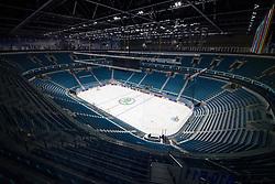 VIew of Barys Arena one day before at IIHF World Championship DIV. I Group A Kazakhstan 2019, on April 28, 2019 in Barys Arena, Nur-Sultan, Kazakhstan. Photo by Matic Klansek Velej / Sportida