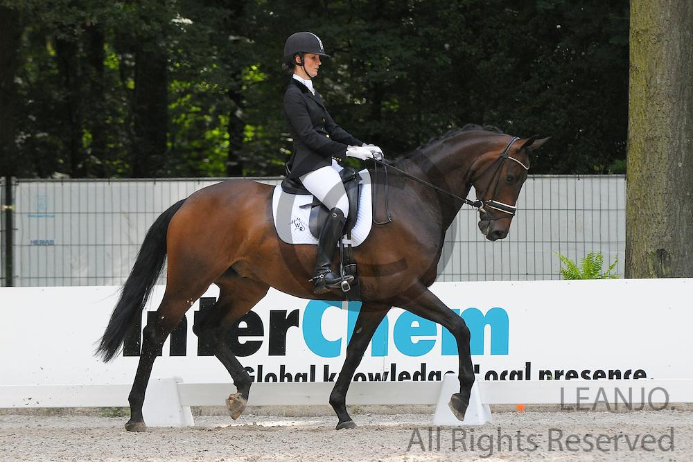 Bernadette Rigter - Bulgari<br /> CHIO Rotterdam 2012<br /> © DigiShots - Esmee van Gijtenbeek
