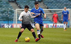 Liam Shephard of Peterborough United in action with Callum Reilly of Gillingham - Mandatory by-line: Joe Dent/JMP - 10/02/2018 - FOOTBALL - MEMS Priestfield Stadium - Gillingham, England - Gillingham v Peterborough United - Sky Bet League One