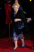 Viering  van de 75ste verjaardag van Pieter Van Vollenhoven in het Beatrix theater, Utrecht<br /> <br /> Celebrating the 75th anniversary of Pieter Van Vollenhoven in the Beatrix Theater, Utrecht<br /> <br /> Op de foto / On the photo:  Prinses Beatrix / Princes Beatrix