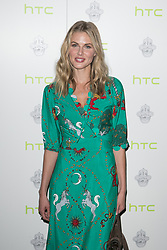 Donna Air attends the launch for the new and limited edition HTC One M9 INK handset at ME London in London.
