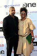Denzel Washington and Pauletta Washington at The Apollo Theater 4th Annual Hall of Fame Induction Ceremony & Gala with production design by In Square Circle Design Concepts, held at The Apollo Theater on June 2, 2008