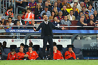 Head Coach Josep Guardiola of FC Bayern Munich during the UEFA Champions League semi-final first leg match, between FC Barcelona and Bayern Munchen on May 6, 2015 at Camp Nou stadium in Barcelona, Spain. <br /> Photo: Manuel Blondeau/AOP.Press/DPPI