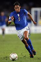 Napoli 02/9/2006<br /> Gara di Qualificazione all'Europeo 2008 Italia-Lituania 1-1<br /> Filippo Inzaghi<br /> Foto Luca Pagliaricci Inside