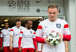 Wayne Rooney of England prior to the EURO 2016 Qualifier Group E match between Slovenia and England at SRC Stozice on June 14, 2015 in Ljubljana, Slovenia. Photo by Vid Ponikvar / Sportida