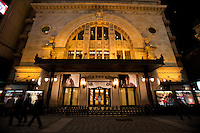 Opened in 1923 as a Neo-Renaissance style theater, Shochichu-za was newly rebuilt in 1997, During renovations the original facade was kept along with interior design. Wide variety of genre of entertainment is presented here from Kabuki to musicals are being performed.